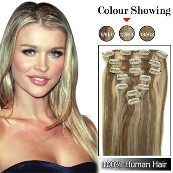 12613 clip in hair extension clips in remy human hair extensions 12613 pmusecretfo Image collections